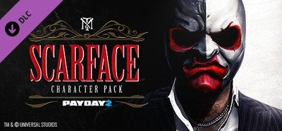 STEAM PAYDAY 2 : Scarface Character Pack DLC 劫薪日2 : 疤面煞星 角色包