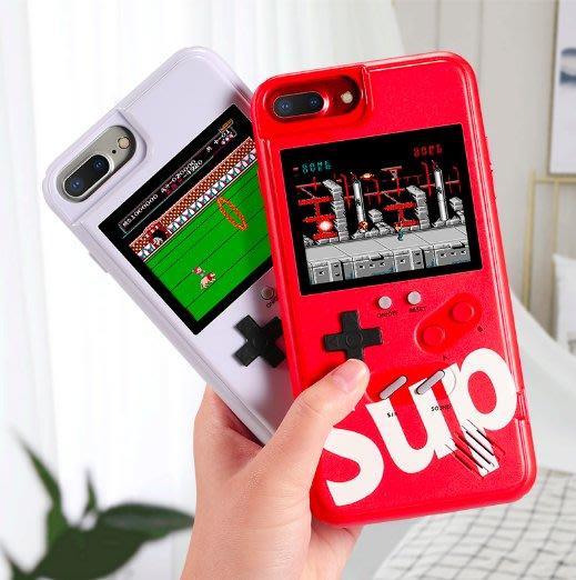 iPhone 保護殼 復古遊戲 電動手機殼 電玩手機殼 遊戲機 超級魂斗羅 坦克大戰 炸彈超人 紅黑白可選 防摔