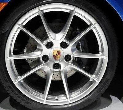 Porsche新款20吋鋁圈適cayman boxster carrier 986 987 911 997 981