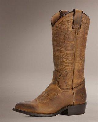 全新 FRYE Billy Pull On 中長靴 洗舊咖啡 SZ9 ...現貨在台灣...8300含國際郵資