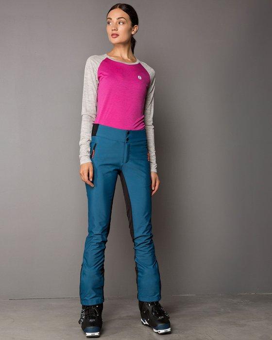【荳荳物語】歐洲品牌8848 Queen刷毛軟殼保暖女款滑雪褲,防水係數15k,3980元