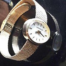 古董表女表CARAELLE 收藏瑞士机械表完整一套 宝路华副缐