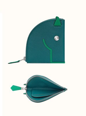 HERMES H079230CKAP Paddock change purse 巴黎代購(接單至8/19免郵資)