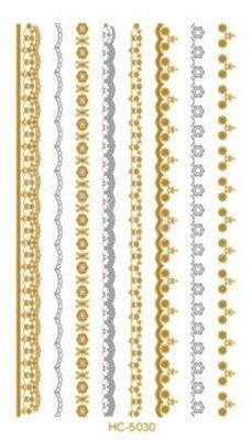 ((瑪奇亞朵的珠寶世界)歐美流行燙金刺...
