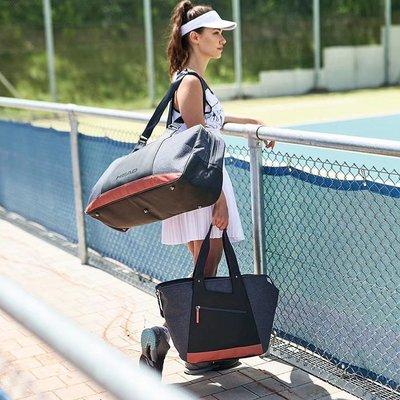 網球包HEAD海德莎拉波娃賽場網球包女款2支6支裝大容量單肩便攜手提袋球包