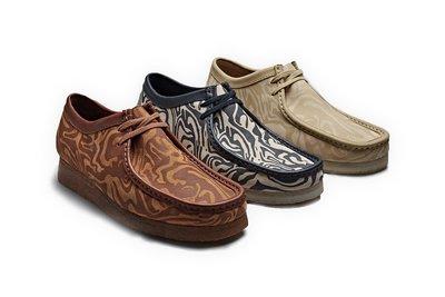 { POISON } CLARKS x WU TANG CLAN WALLABEE WW LO BOOT 經典袋鼠鞋短靴