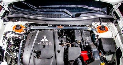 《大台北》億成汽車底盤精品改裝-SUMMIT-引擎室前上拉桿 三菱 OUTLANDER 2015+