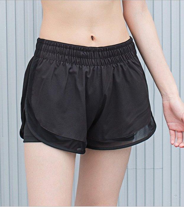 女 假兩件短褲,防走光,吸濕排汗 透氣 塑身 【Zoe Shop 柔依衣坊】#C08-B01