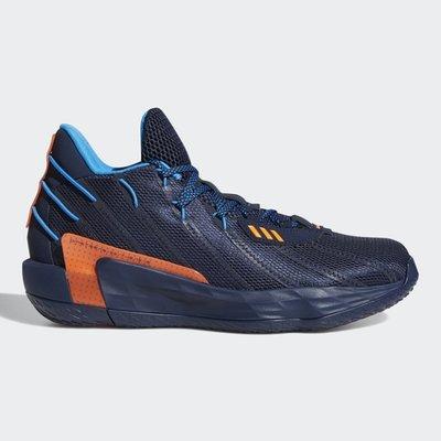 [ROSE] ADIDAS DAME 7 LIGHTS OUT 男鞋 籃球  藍 FZ1103 特價2899 21/01