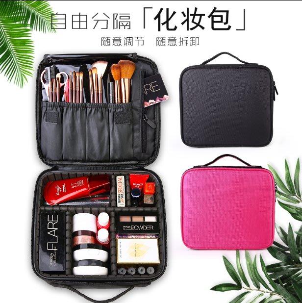 防水化妝包 牛津布收納包 便攜韓國簡約多功能收納包 可愛旅行大容量網紅化妆盒
