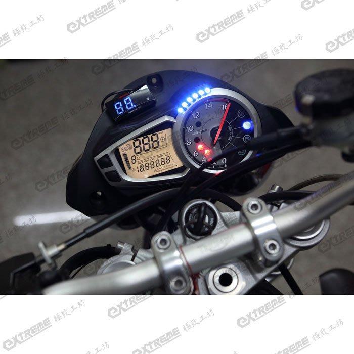 [極致工坊] 凱旋 TRIUMPH Triple  重車 液晶儀表板 碼錶 故障 微亮 維修