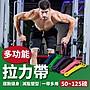 【專業推薦!健身重訓】50~ 125磅 多功能拉力...