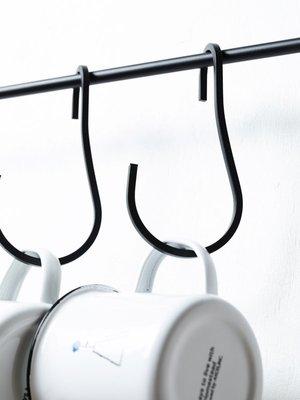 《雪莉工坊+現貨》Homestead/Axcis 鐵製S掛勾 掛桿掛勾 方型鐵條  by 日本鄉村風雜貨