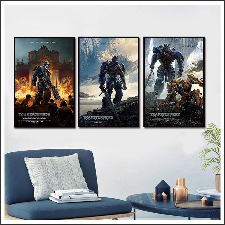 日本製畫布 電影海報 變形金剛5 最終騎士 Transformers 嵌框畫 @Movie PoP 賣場多款海報#