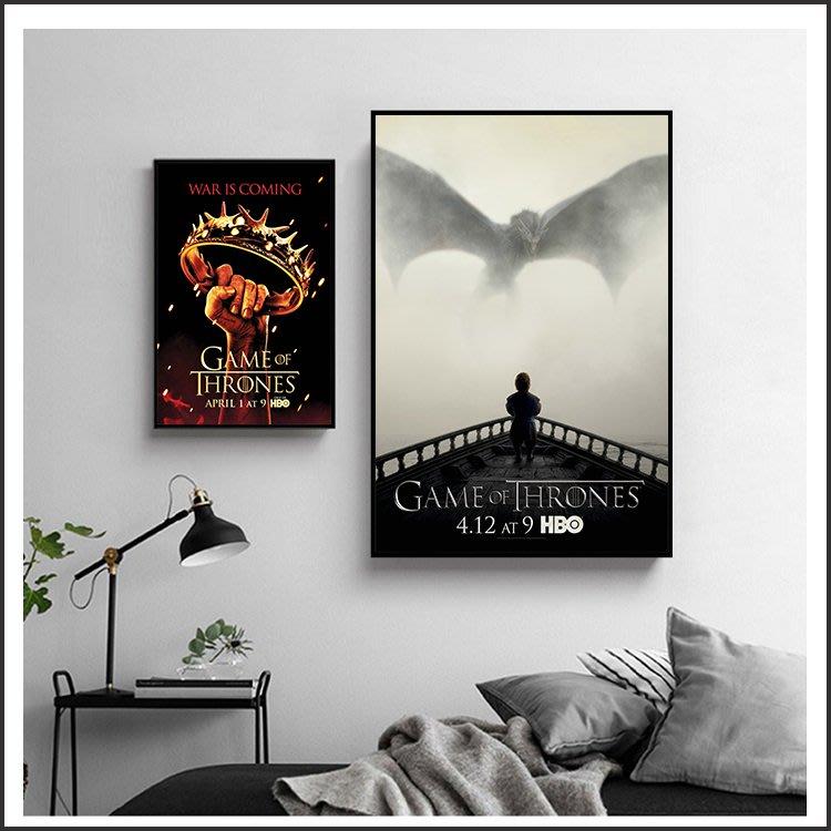 日本製畫布 電影海報 權力的遊戲 冰與火之歌 GameThrones 掛畫 無框畫 @Movie PoP 賣場多款海報#
