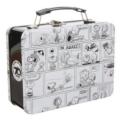 [Paradise] PEANUTS  Snoopy 花生漫畫 史努比漫畫格 錫製野餐盒