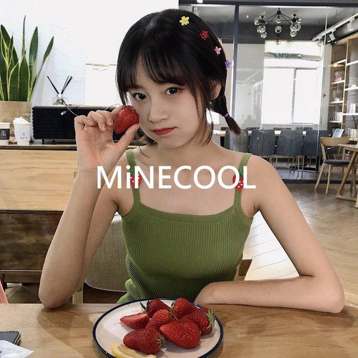 MiNE SHOP韓國 百搭打底針織背心內搭M9605-3兩色  均碼