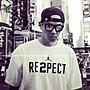 Nike Aj超限量黑人陳建州同款 Respect情侶短袖T恤