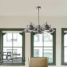 【168 Lighting】樂來樂愛《時尚吊燈》(兩款)5燈GD 20243-2