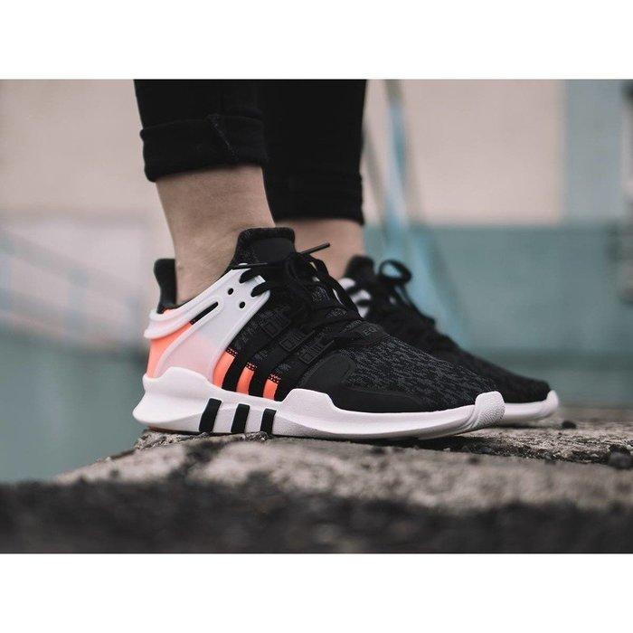 Adidas Originals EQT Support ADV BB0543 黑粉紅休閒運動慢跑鞋男女