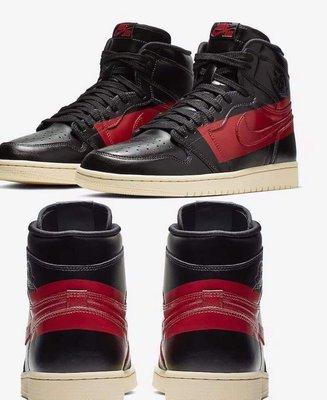 現貨 US10.5 US11 Nike Air Jordan 1 OG  Defiant Couture 禁穿 黑紅