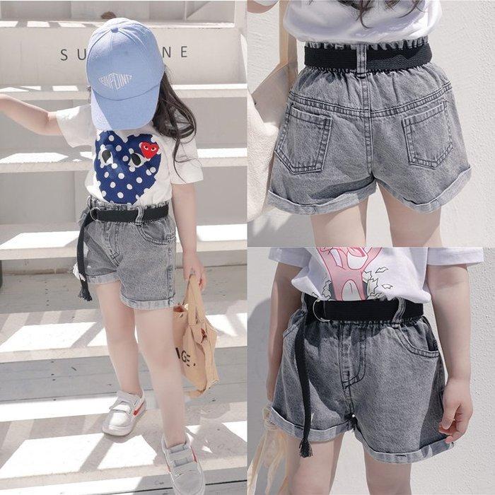 女童牛仔短褲2018新品韓國時尚寶寶女夏季裝1一3歲嬰兒外穿熱褲潮