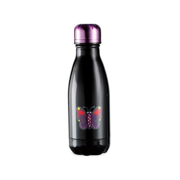 天使熊小鋪~starbucks 星巴克與知名設計師ANNA SUI合作的9 OZ ANNA SUI不鏽鋼保溫瓶