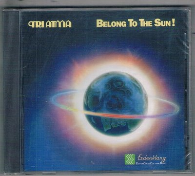 西洋CD-TRI ATMA/BELONG TO THE SUN! (IRS971.483)/全新/免競標