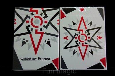 [fun magic] 白色FANNING撲克牌 花切撲克牌 花切牌 CARDISTRY FANNING