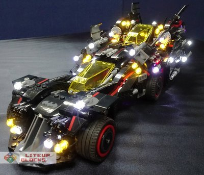 Lego compatible 70917 USB Powered LED The Ultimate Batmobile 燈組