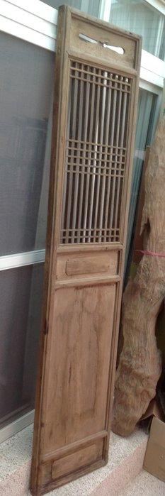 【黑狗兄】老窗花門雕花門,木門,木窗,隔扇,屏風一件----H-13