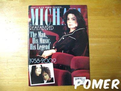 ☆POMER☆TODAY'S BLACK WOMAN 特別紀念版特刊 Michael Jackson 麥可傑克森 雜誌
