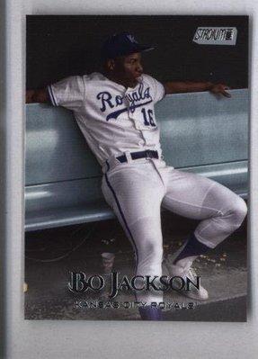 2019 Topps Stadium Club #178 Bo Jackson - Kansas City Royals