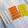 西西s手工藝材料 61106 馬賽克玻璃磚(15入) 飾品配件 網美拍照 文創 兒童DIY 水鑽貼飾 滿額免運