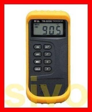 ☆SIVO電子商城☆HILA TM-905A 雙通道 K-Type 數位式溫度計 數字溫度計