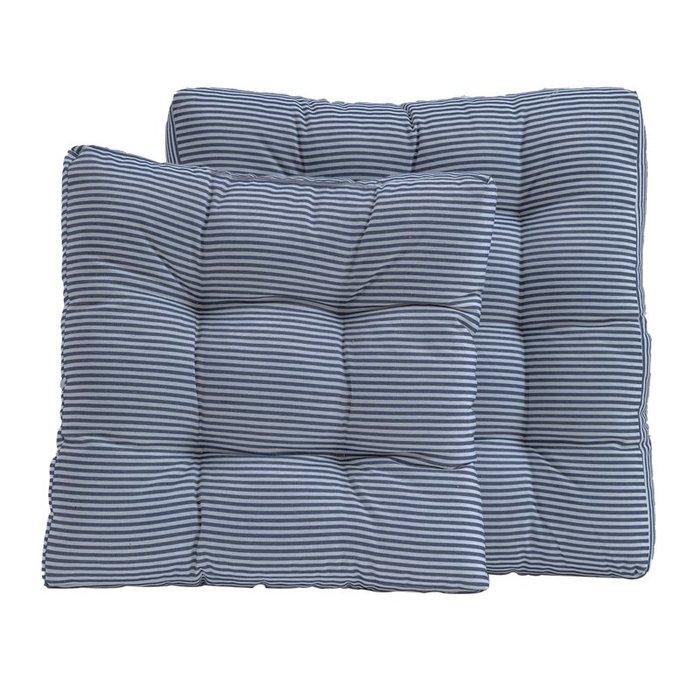 SX千貨鋪-條紋沙發坐墊辦公室久坐座椅墊坐墊榻榻米圓形墊四季通用座墊