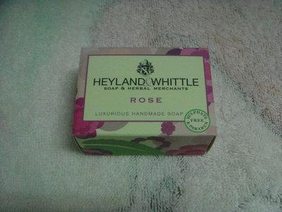 [點點藍]HEYLAND&WHITTLE英倫薇朵 英倫玫瑰手工皂45g H&W