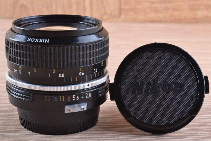 【高雄品光攝影】 Nikon Non-Ai 28mm F2.8 手動鏡 定焦 #44534J