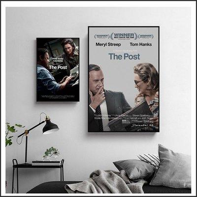 日本製畫布 電影海報 郵報 密戰 The Post 掛畫 無框畫 @Movie PoP 賣場多款海報#