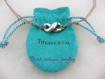 ((天堂鳥)) 全新 Tiffany &Co 純銀925項鍊 不二價