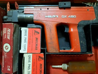 二手喜德釘火藥槍DX450
