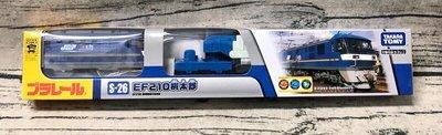 【G&T】純日貨 多美 Plarail 鐵道王國火車 S-26 EF210 桃太郎 875390