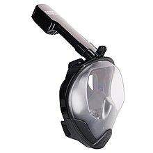 窩美新款全乾式浮潛面罩潛水面罩防水防霧廢氣不回流