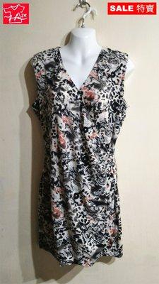MOMA 洋裝 連身裙 無袖 修身款-女款-水墨黑-40號(M)【JK嚴選】LV 鬼怪