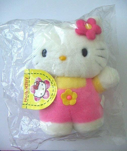 陽光一品~Hello Kitty- KT花朵背心褲絨毛娃娃