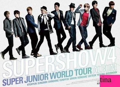 Super Junior World Tour [Super Show 4] 韓國原版四巡演唱會3CD全新Don't Don東海銀赫Oppa Oppa