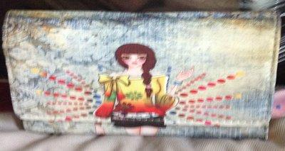 全新氣質女孩手機背 側背包 斜背包 金鍊包 手拿包