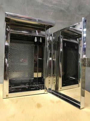 不銹鋼開關箱 一聯 白鐵開關箱 防水開關箱 開關箱 屋外防水箱