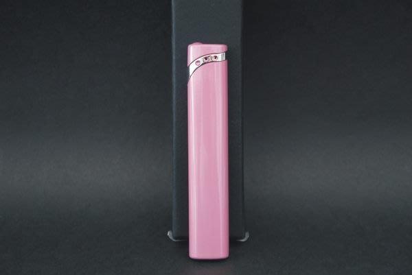 ONE*$1~PEARL珍珠*香檳粉紅 《電子*打火機 》扁圓細長形 *編號:2-93969-25