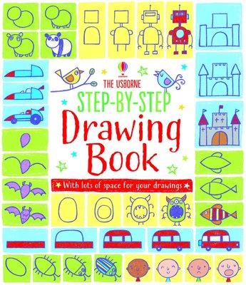 特價Usborne Step-by-step Drawing Book animals people 英文兒童繪畫書